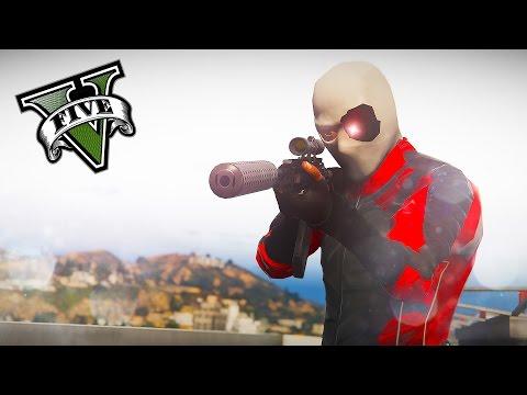 GTA 5 PC - Deadshot The Deadeye ! Suicide Squad ! (Deadshot Gameplay)