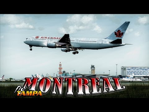 ✈ |FSX| BY REQUEST: Air Canada 767-300 to Montreal