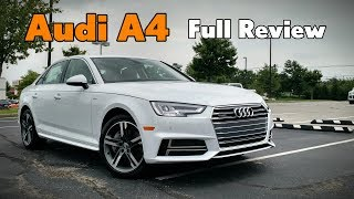2018 Audi A4 Sedan: Full Review | Prestige, Premium Plus & Premium