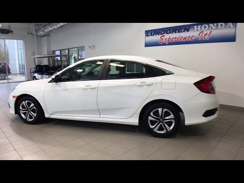 2016 Honda Civic Auburn, Worcester, Putnam, Westborough, Shrewsbury, MA N190782A