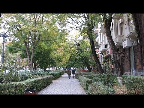 Yerevan, 29.10.17, Su , Video-2, (на рус.), улица Абовяна (ч.8)