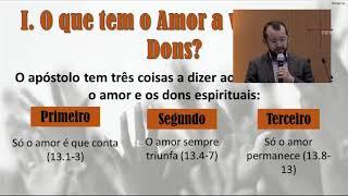 EBD PIPR|Aula 11:E Só o Amor que Conta| Rev. Jaidson Araújo| 03.05.2020