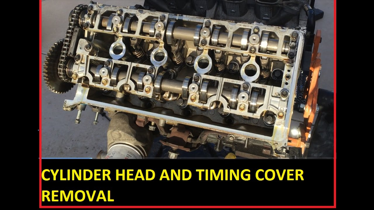 Part 4 Cam Covers Water Pump Timing Cover And Cylinder