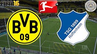 Fifa 16 - borussia dortmund gegen tsg 1899 hoffenheim (33.spieltag) ◄bvb #61►