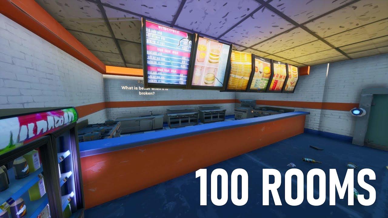 100 Rooms Created By Hazza 5238 Youtube