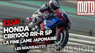 ESSAI HONDA CBR1000 RR-R SP FIREBLADE 2020