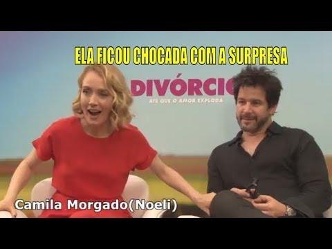DIVÓRCIO FILME  MURILO BENÍCIO E CAMILA MORGADO SE SURPREENDEM COM UMA SURPRESA  MIXTURAÇÃO