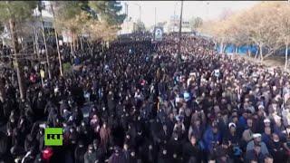 Marchas iraníes en respuesta al asesinato del general Soleimani