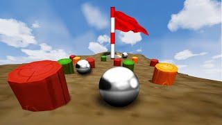 CRAZY GOLF PINBALL COURSE! (Golf It)