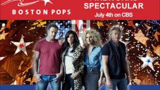 Little Big Town performs with the Boston Pops