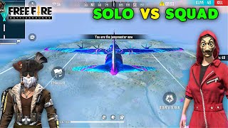 Free Fire Solo vs Squad Best Scar AWM and M1887 Gameplay   Garena Free Fire screenshot 1