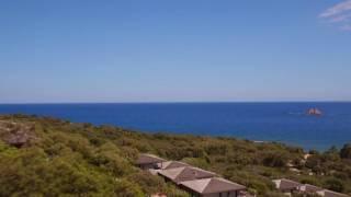 Vue aérienne, Villa, Golfe de Pinarello