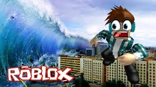 NO PUEDO CREERLO ¡ES DE LOCOS! | ROBLOX | NATURAL DISASTER SURVIVAL