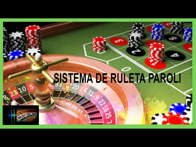 Sistema de Ruleta PAROLI 💚 Ruleta Europea