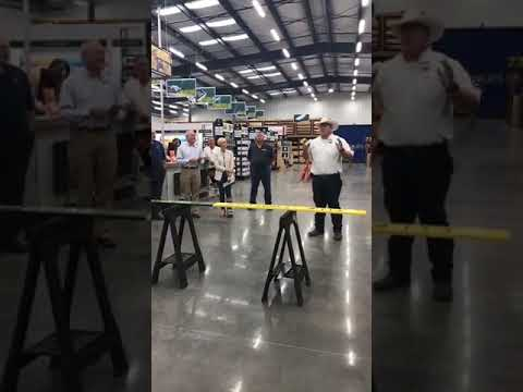 Grand Opening Of McCoy's Building Supply In Montgomery, TX