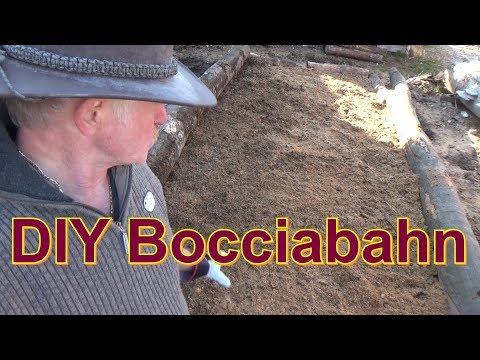 DIY Bocciabahn