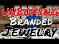 UNBOXING: Assorted Branded Jewelry Cases