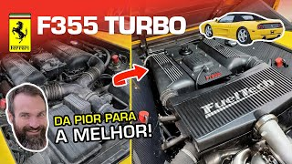 From the WORST Ferrari F355 to the BEST in 1 month! All the final details! (English subtitles)