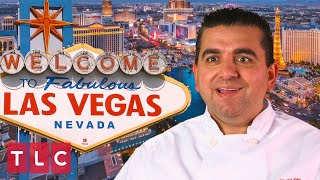 Buddy Makes a Vegas Themed Cake! | Cake Boss