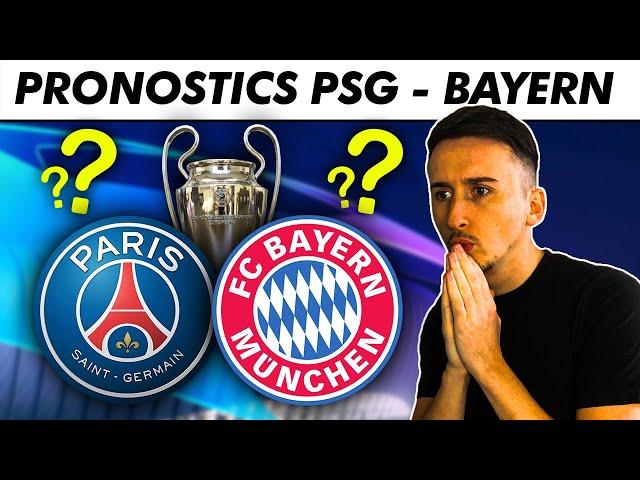 Pronostic foot : Mon PRONOSTIC pour PSG - Bayern ! Paris élimine le Bayern et file en demi ?