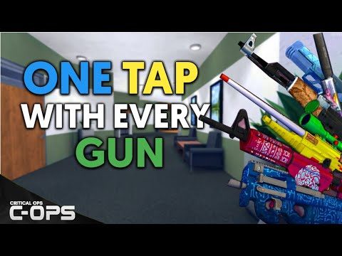 One Tap With Every Gun - Critical Ops