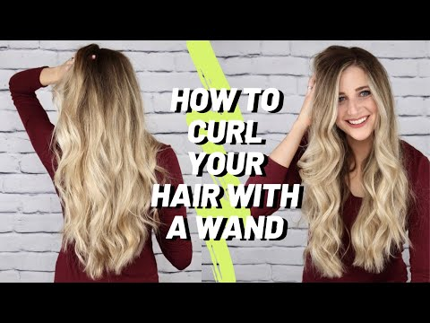 How to Curl Your Hair with a Wand