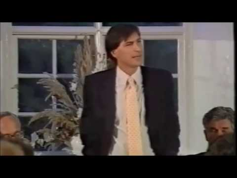 Steve Jobs visit at Lund University in 1985