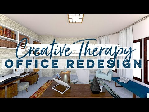 Design With Me (E-Design): Creative Therapy Office Makeover Tour | Decorating w/Color | Albie Knows