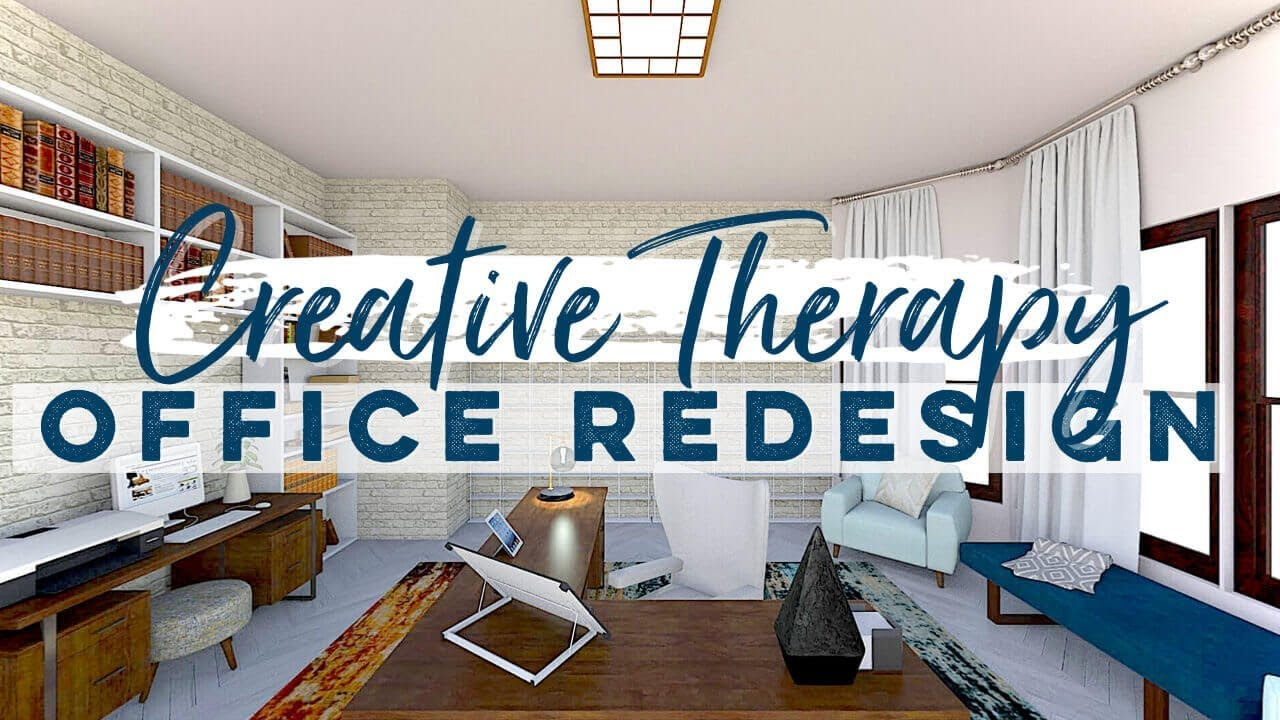 Design With Me E Creative Therapy Office Makeover Decorating Color Albie Knows