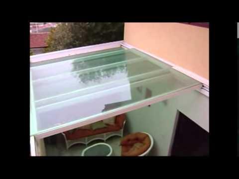 Domodel domos aluminio policarbonato vidrio youtube - Techos de cristal para casas ...