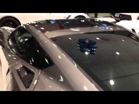 2015 Corvette Stingray Shark Gray - Huffines Chevy Lewisville