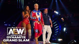 Watch Cody Rhodes' Triumphant Entrance + Look Who's Back! | AEW Dynamite Grand Slam, 9/22/21