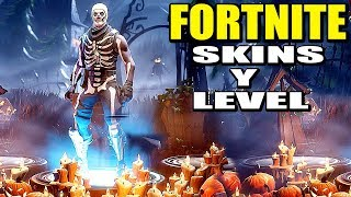 New SKINS AND CHARACTER LEVEL in BATTLE ROYALE - FORTNITE Update ? Gameplay English