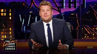 James Corden's Tribute to Prince