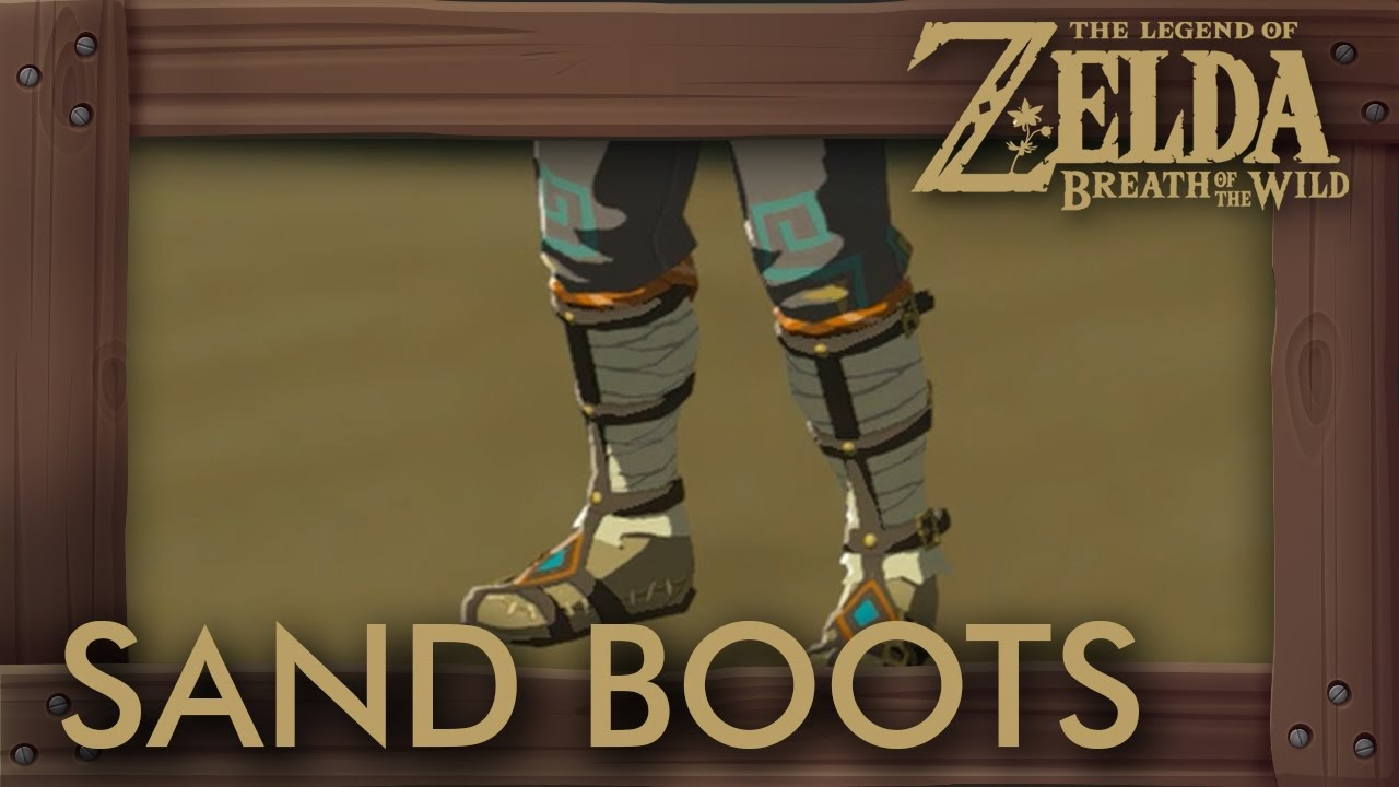 Zelda Breath Of The Wild How To Get Sand Boots Amp Snow