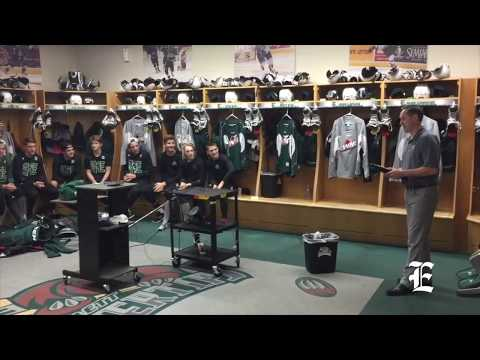 Everett Silvertips dressing room captains announcement 2017-18
