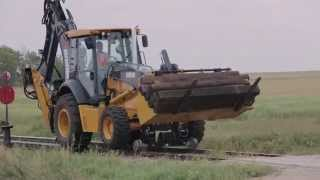 Brandt Hi-Rail Backhoe