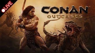 [PS4] Conan  Outcast | コナンアウトキャスト #11 のんびり素材集めて、建築します