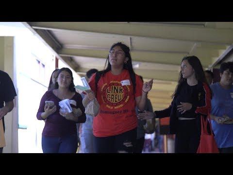 The Link Crew Dominguez High School