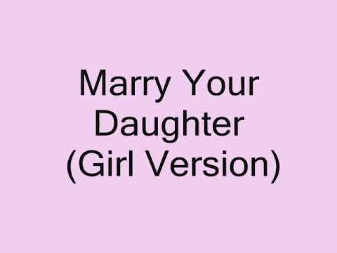 Lirik lagu Marry Your Daughter - Brian McKnight (Girl Version) | Animation