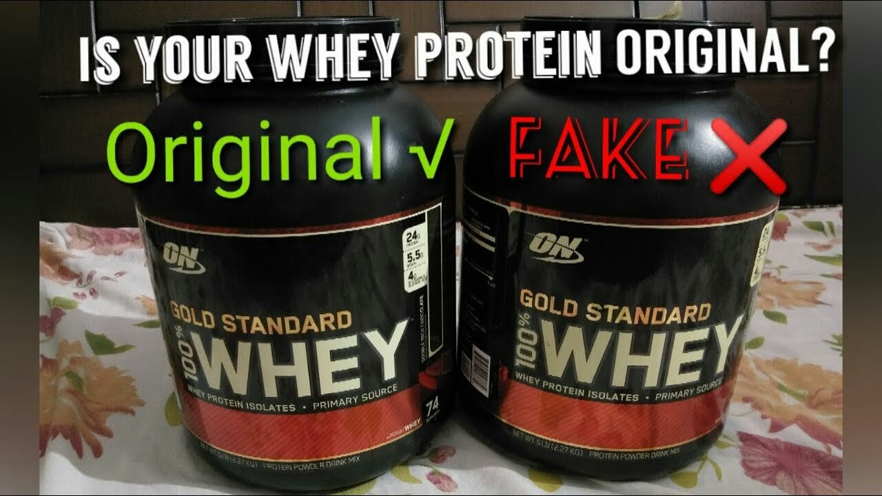 How To Identify Fake Supplement Is Your Whey Protein Original Youtube