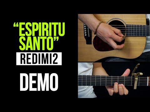 """Aprende a tocar """"Espíritu Santo"""" de Redimi2 y Barak:"""