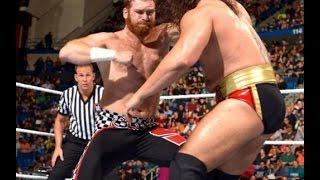 Sami Zayn vs  Rusev   Intercontinental match  Full HD match 2016