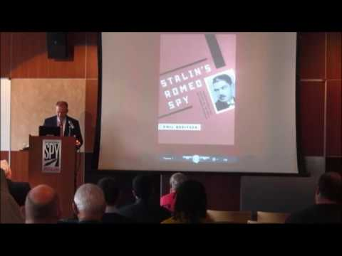 "Presentation of ""Stalin's Romeo Spy"", International Spy Museum, Washingon, D.C."