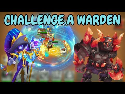 Challenge A Warden With Cosmo L Castle Clash