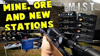 Huge Update: Mine, Ore, New Rifle, Ammo & Stations | Mist Survival Gameplay | S1 E23