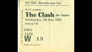 THE CLASH.live newcastle city hall.14.7.82.part one
