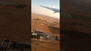 Uçak kalkarken oluşan türbülans ı gördük  🤔🤔