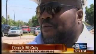 Mccray's Backyard Bbq Breaks Ground