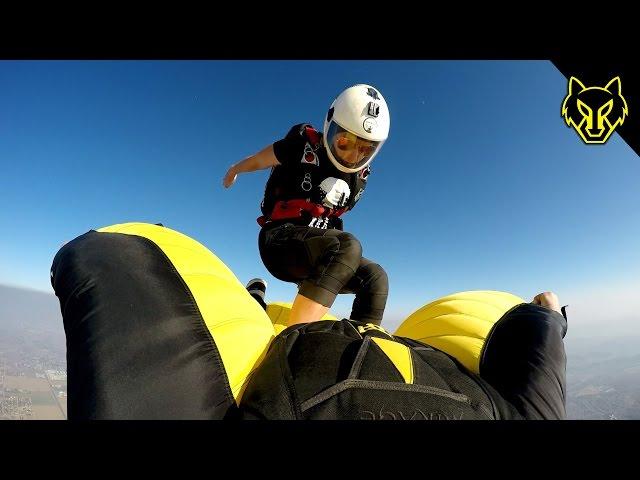 Cloud Surfing Wingsuits - Steep